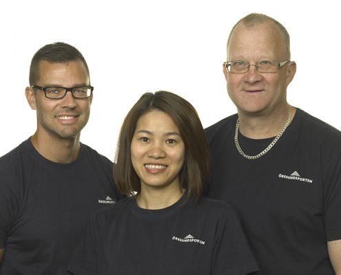 Bild på teknik personalen
