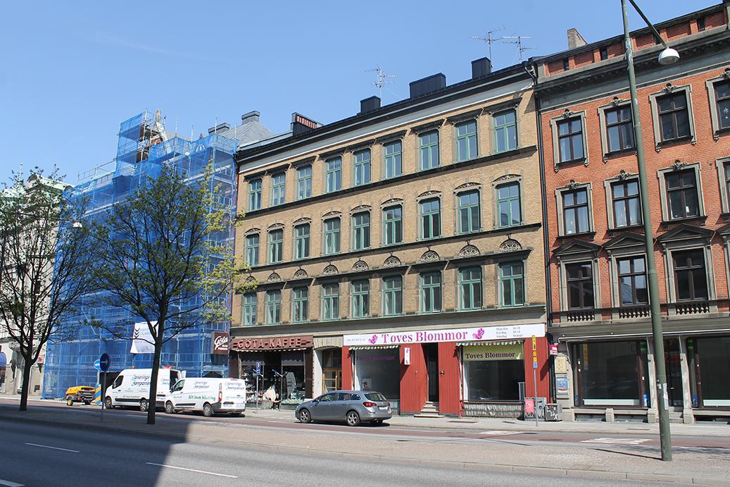 Bild på Amiralsgatan 8
