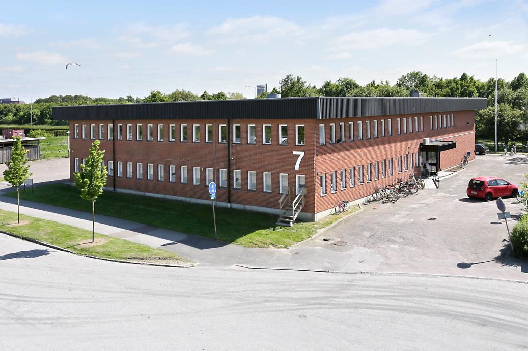 Bild på Skarpskyttevägen