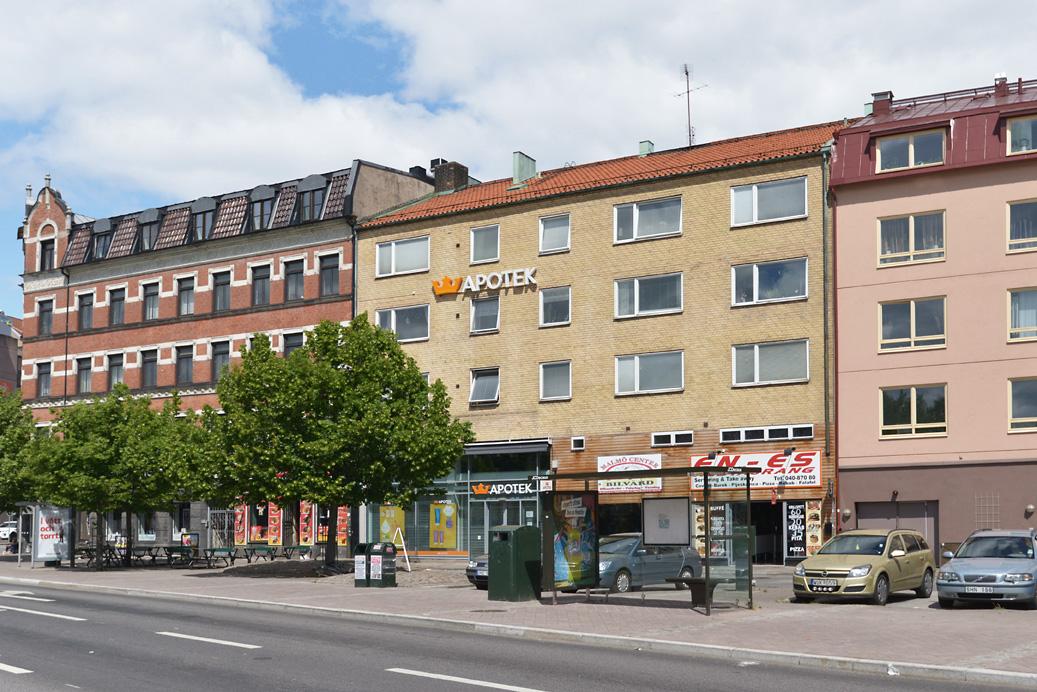 Bild på Ahlmansgatan