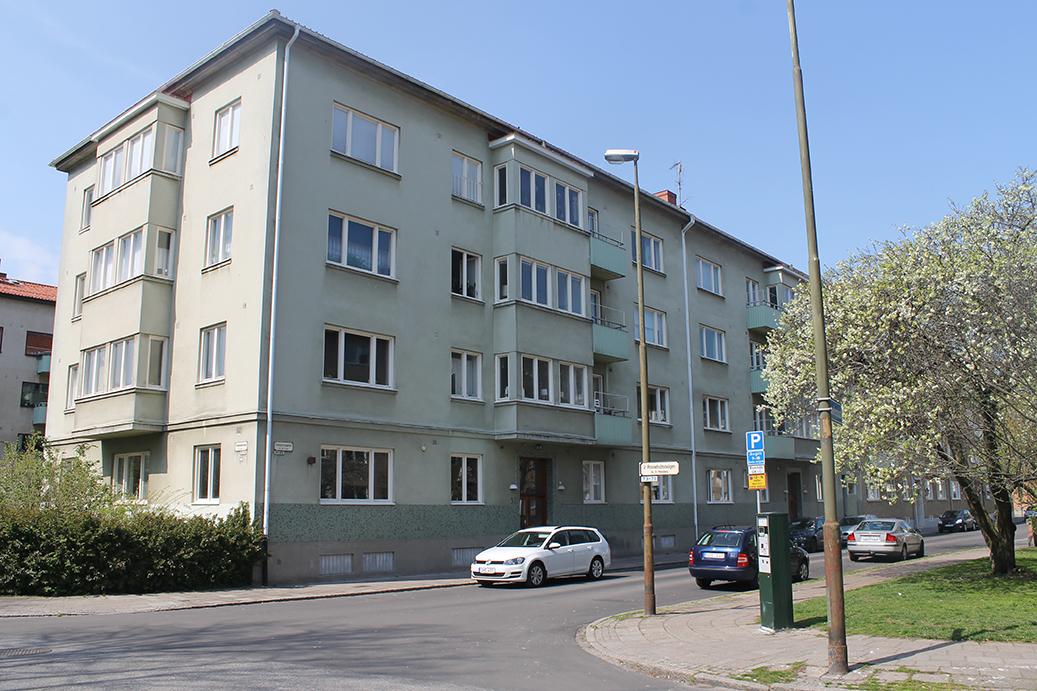 Bild på Skvadronsgatan